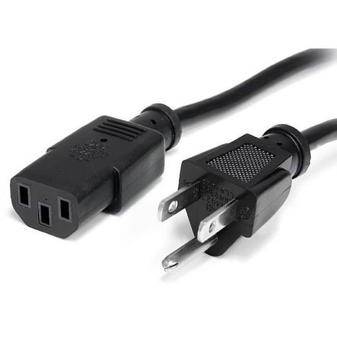Cable de corriente para CPU o monitor
